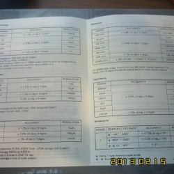 МУЛЬТИМЕТР DT9205A инструкция